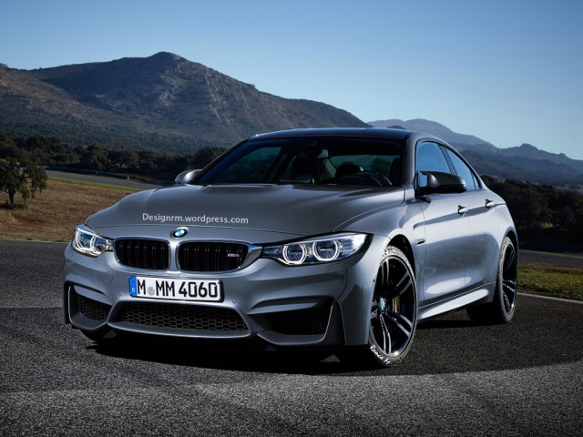 Possible BMW M4 Gran Coupe Imagined