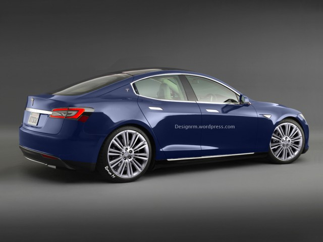 Entry-Level Tesla Model E Imagined