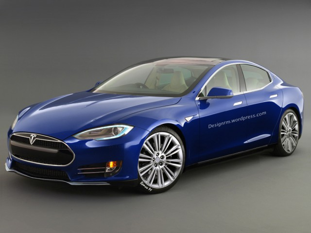 Entry-Level Tesla Model E Imagined