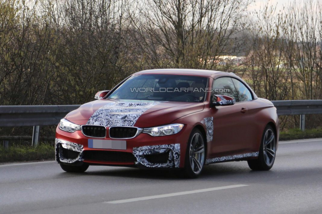 BMW M4 Convertible to be Unveiled at New York Auto Show?