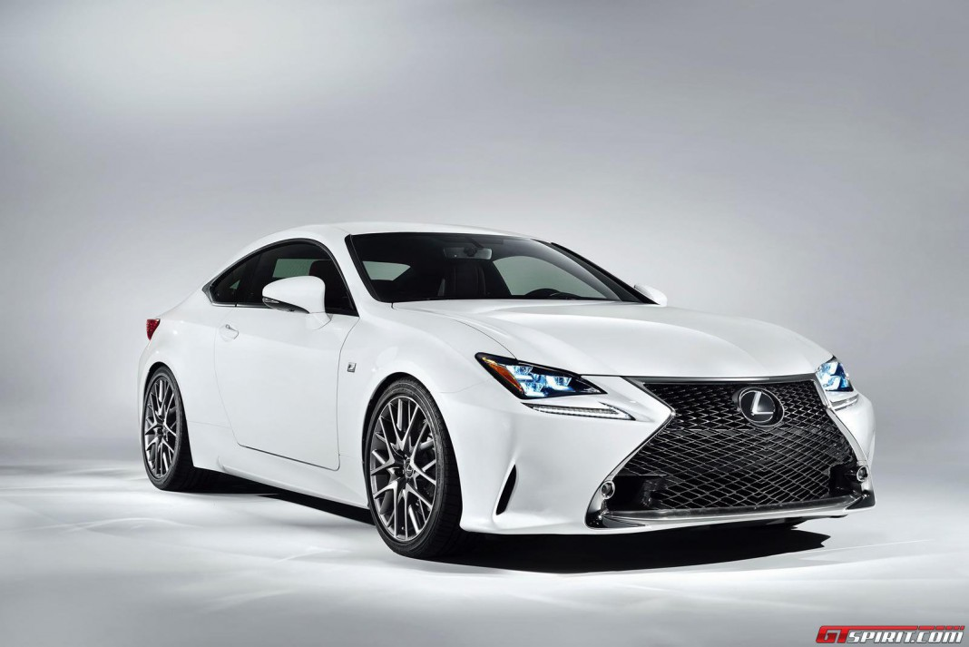 Lexus RC 300h F Sport Also Coming to Geneva Motor Show 2014