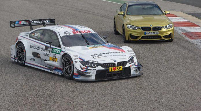 Official: BMW M4 DTM Racer