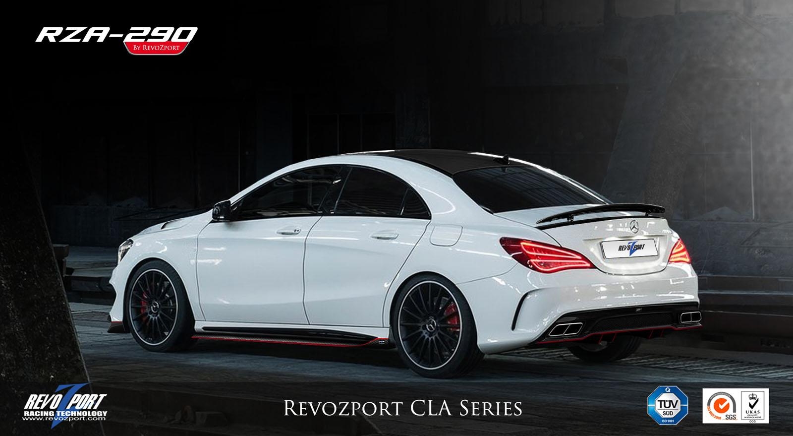 Official Mercedes Benz Cla By Revozport Gtspirit