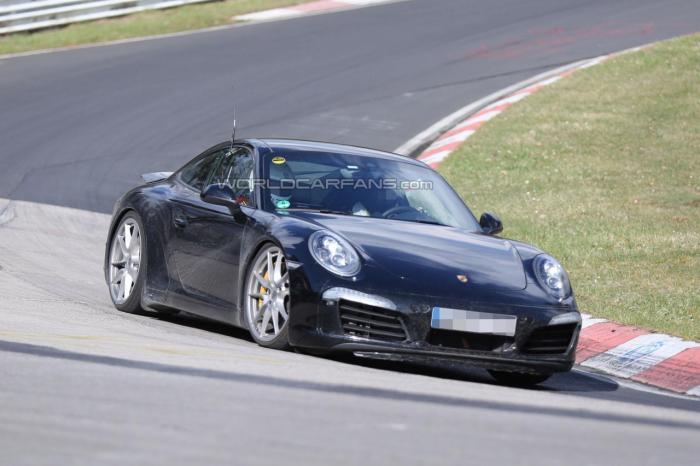 Porsche 991.2 911 Begins Testing at the Nurburgring