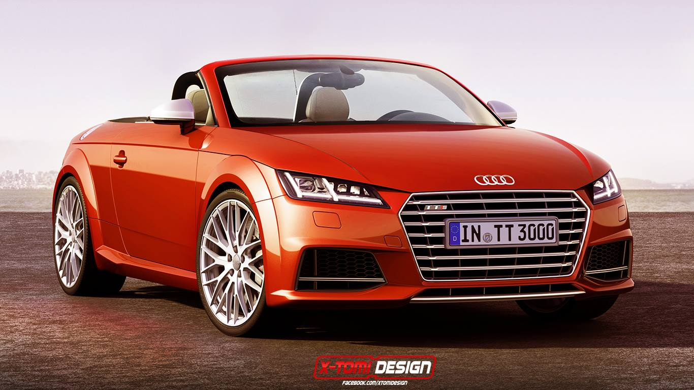 render 2015 audi tt roadster gtspirit. Black Bedroom Furniture Sets. Home Design Ideas