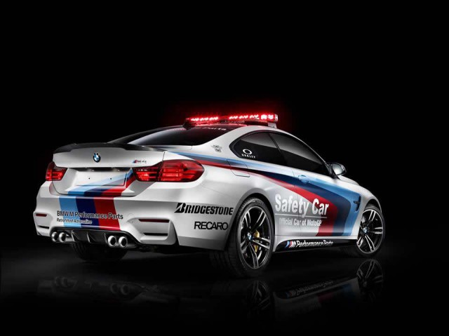 BMW M4 Safety Car Revealed for 2014 MotoGP Season