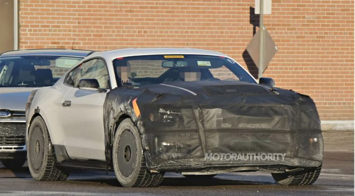 2016 Ford Mustang GT350 Spied