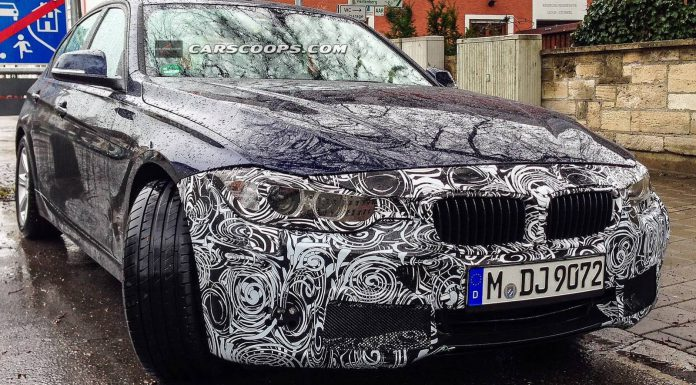 Facelifted BMW 3-Series Spotted for the First Time