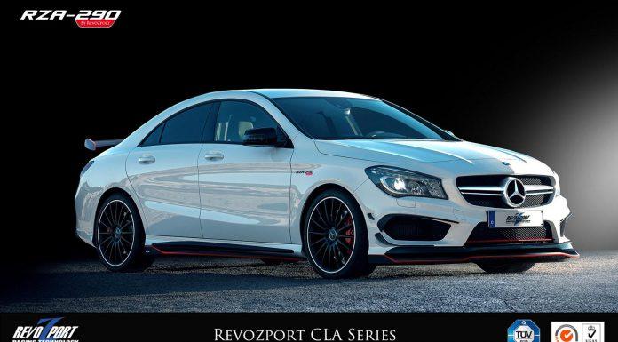Official: Mercedes-Benz CLA by RevoZport