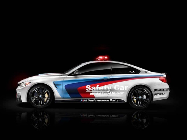 BMW M4 Safety Car Revealed for 2014 MotoGP Season