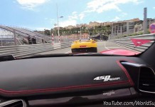 Chasing a 900hp GTA Spano with a 590hp Mansory Ferrari