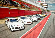 AMG Customer Sports Test Days at Circuit de Barcelona-Catalunya