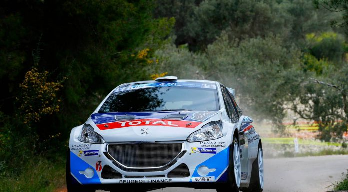 Greece Acropolis Rally: Super Win for the New Peugeot 208 T16