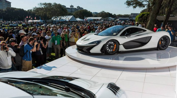 McLaren at the Amelia Island Concours d'Elegance 2014