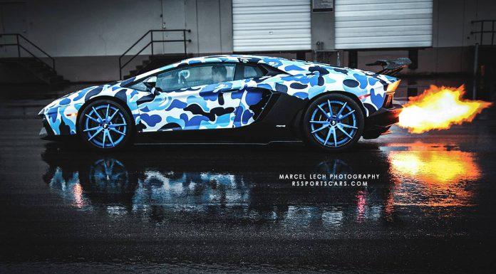 Arctic Camo Lamborghini Aventador