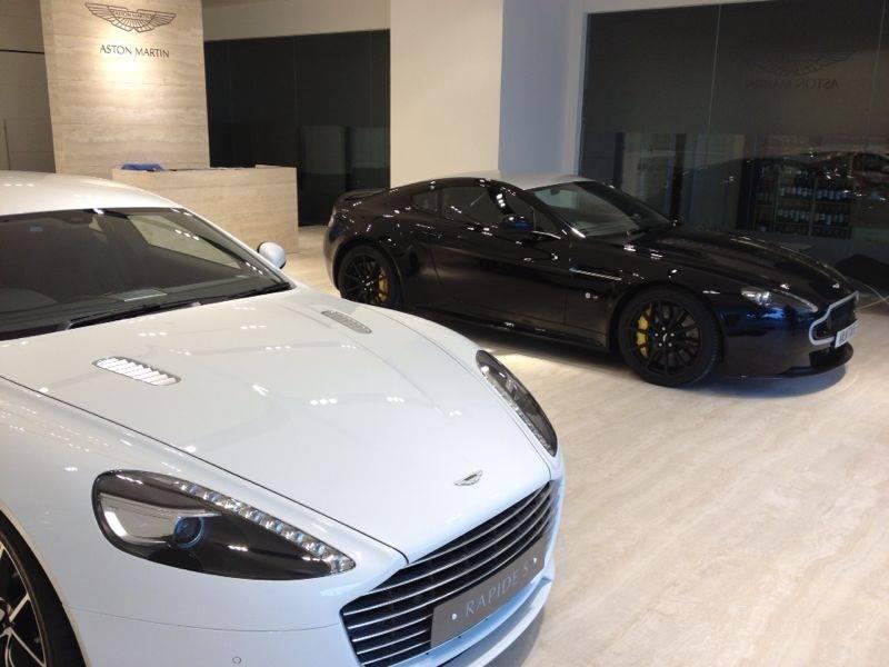 Aston Martin Opens New Showroom in Macau