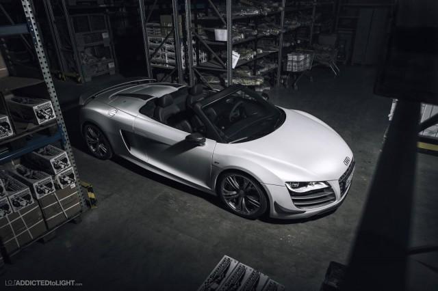 Audi R8 GT Spyder Photoshoot