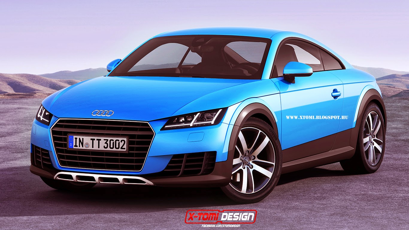 production audi tt allroad rendered gtspirit. Black Bedroom Furniture Sets. Home Design Ideas
