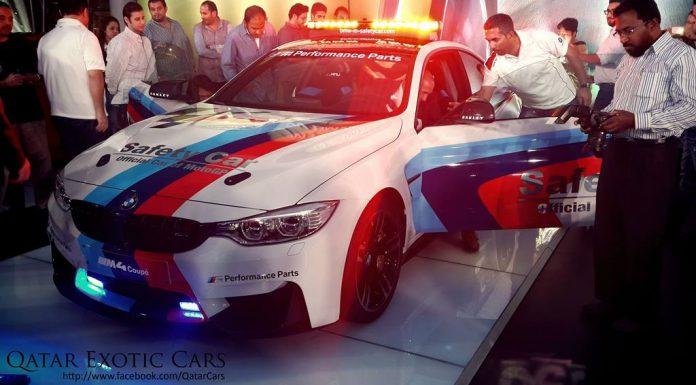 BMW's MotoGP M4 Safety Car