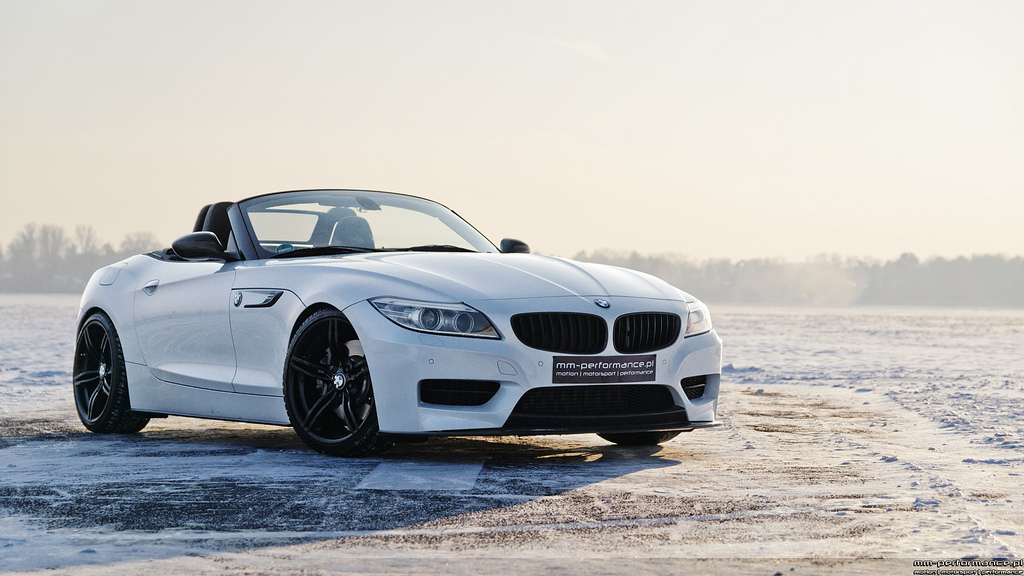 Mineral White Bmw Z4 Sdrive35is By Mm Performance Pl