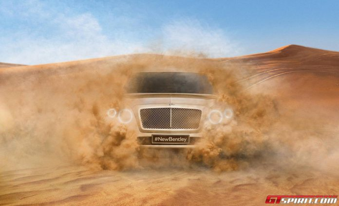 Bentley SUV Design Signed off For Production