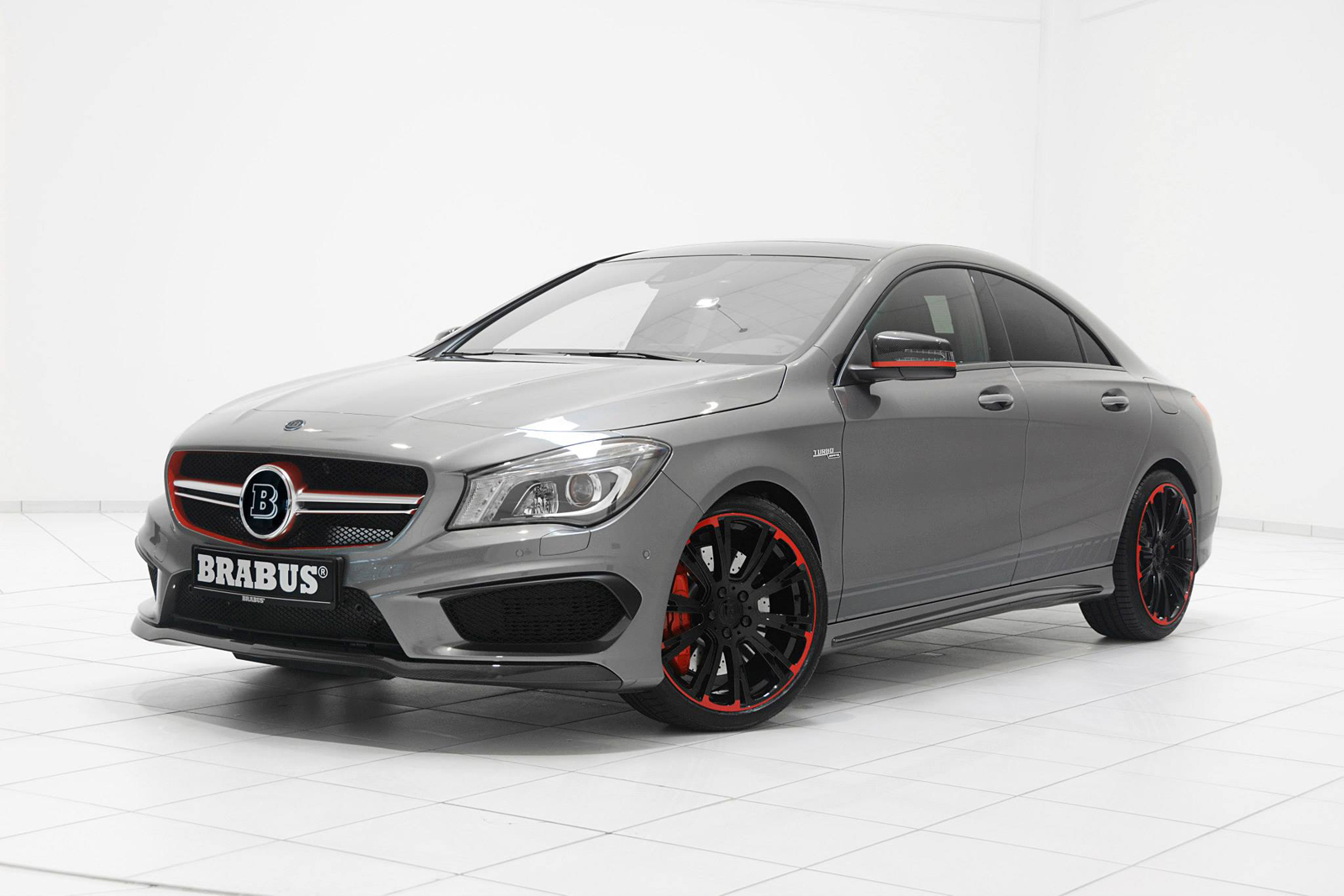 Official mercedes benz cla 45 amg by brabus gtspirit for Mercedes benz amg cla 45