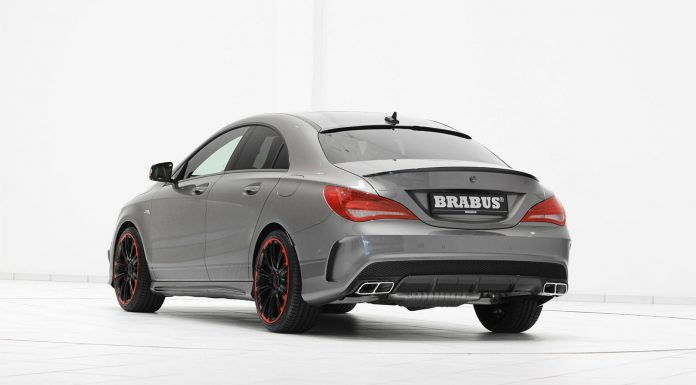 Official: Mercedes-Benz CLA 45 AMG by Brabus