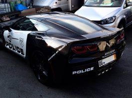 Corvette C7 Cop Car