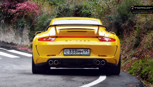 Stunning Yellow Porsche 911 Carrera Stinger by TopCar