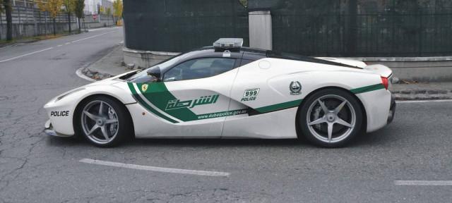 Dubai Police Ferrari LaFerrari