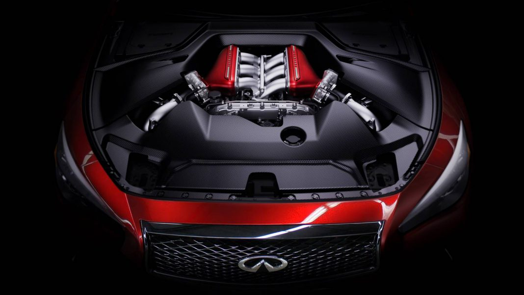 Infiniti Q50 Eau Rouge Concept Confirmed to Feature 560 hp Nissan GT-R Engine