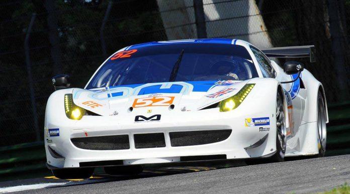 RAM Racing White Ferrari 458 GTE