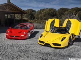 Ferrari Enzo and F50