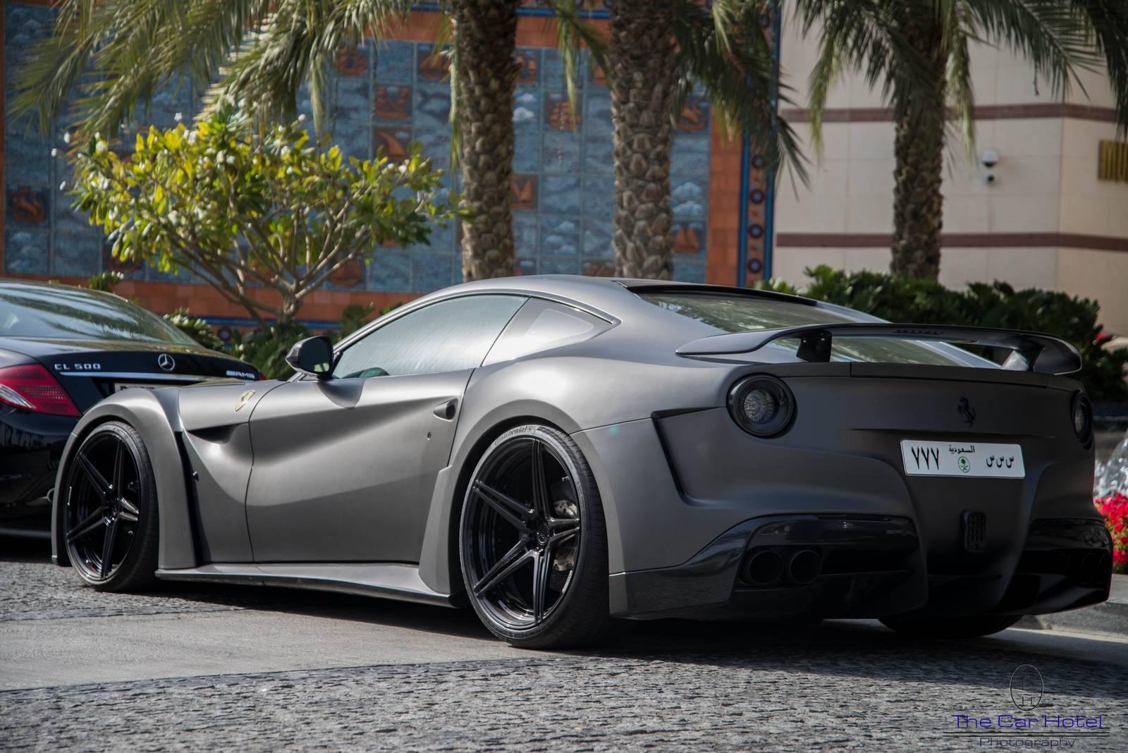 Ferrari F12 Tdf Price >> Matte Grey Novitec N-Largo Ferrari F12 in Dubai - GTspirit