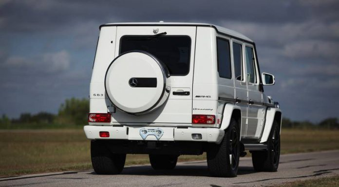 Hennessey Mercedes-Benz G63 AMG HPE700