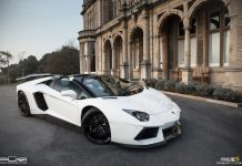 Lamborghini Aventador Roadster with PUR Wheels