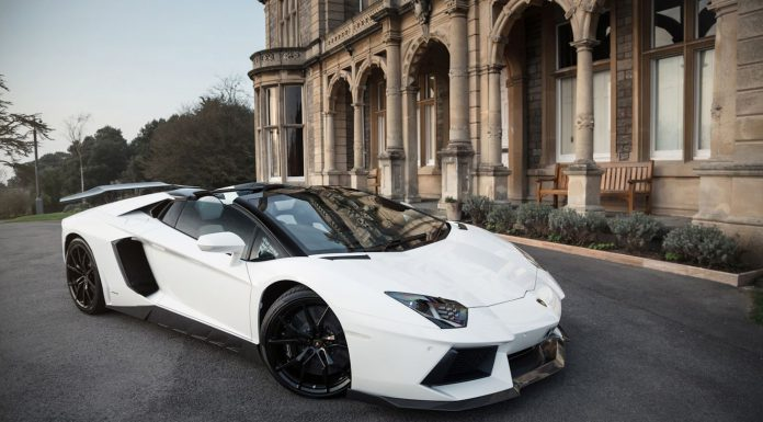 Lamborghini Aventador Roadster with PUR Wheels