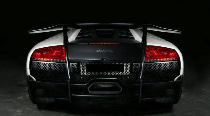 White Lamborghini Murcielago LP670-4 SV Photoshoot
