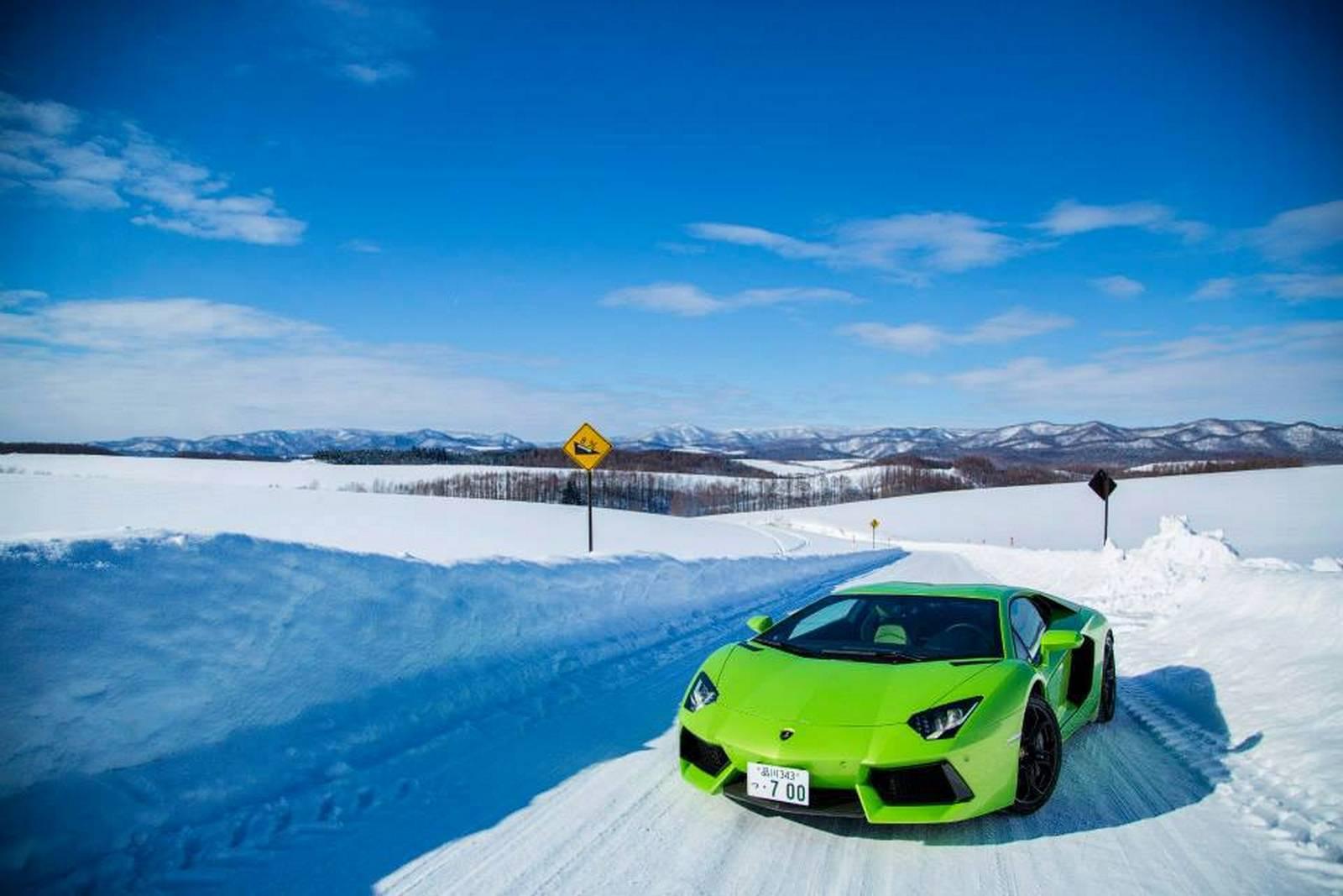 Lamborghinis For Sale >> Gallery: Lamborghini Winter Academy in Hokkaido, Japan ...