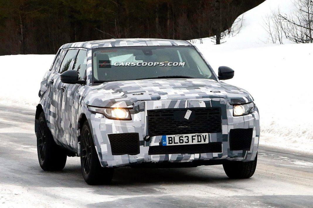 Jaguar SUV Spied Disguised as Entry-Level Range Rover?