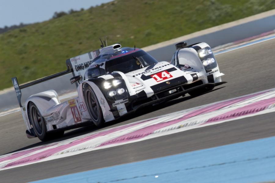 Porsche 919 Hybrid Tests at Paul Ricard