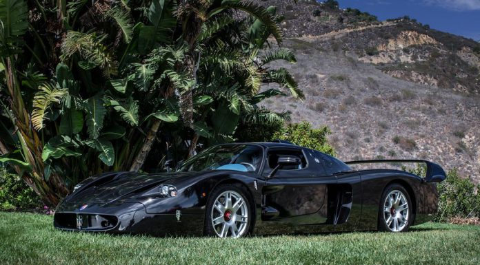 The Only Black Maserati MC12 Ever Made