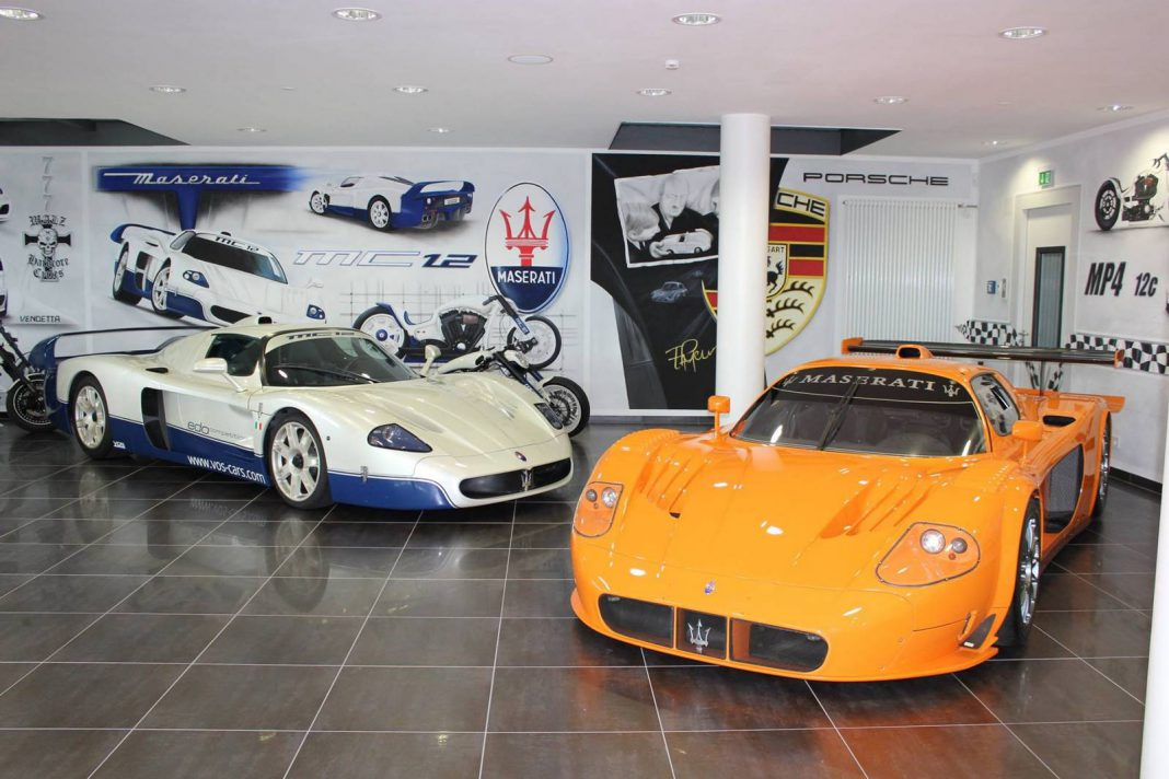 ultra rare maserati mc12 corsa mc12 together at vos cars gtspirit. Black Bedroom Furniture Sets. Home Design Ideas