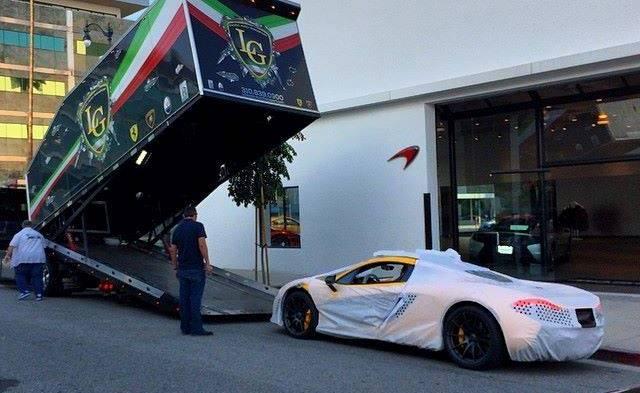 Jay Leno McLaren P1 Arrives in the US