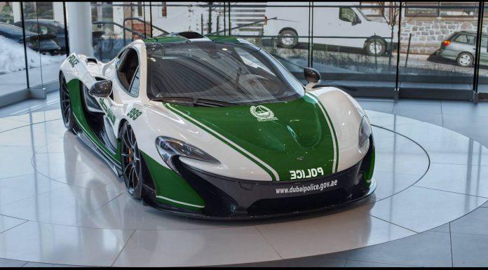 McLaren P1 Dubai Police