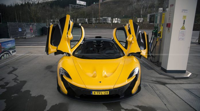 McLaren P1 at the Spa