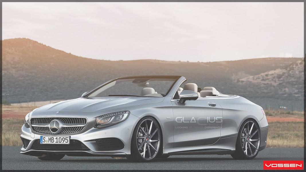 Render: Mercedes-Benz S-Class Cabriolet