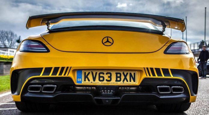 Yellow Mercedes-Benz SLS AMG Black Series - GTspirit