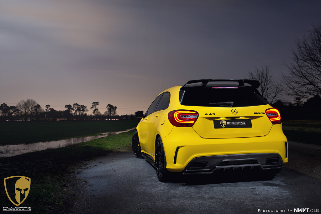 official mercedes benz a45 amg project 45 by revozport. Black Bedroom Furniture Sets. Home Design Ideas