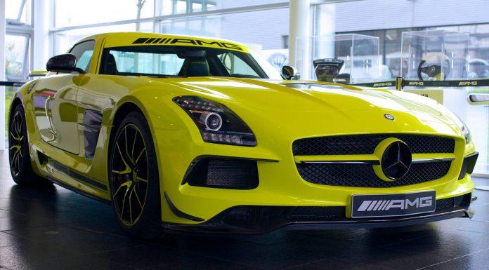 Neon Yellow Mercedes-Benz SLS AMG Black Series